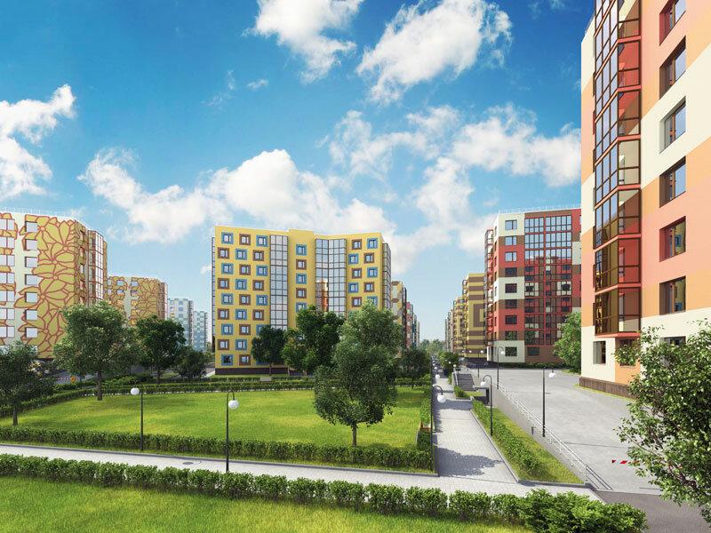 Новый жилой комплекс Дыбенко