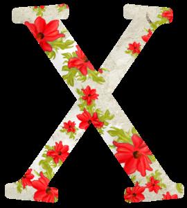 Цветочные алфавиты (латиница)