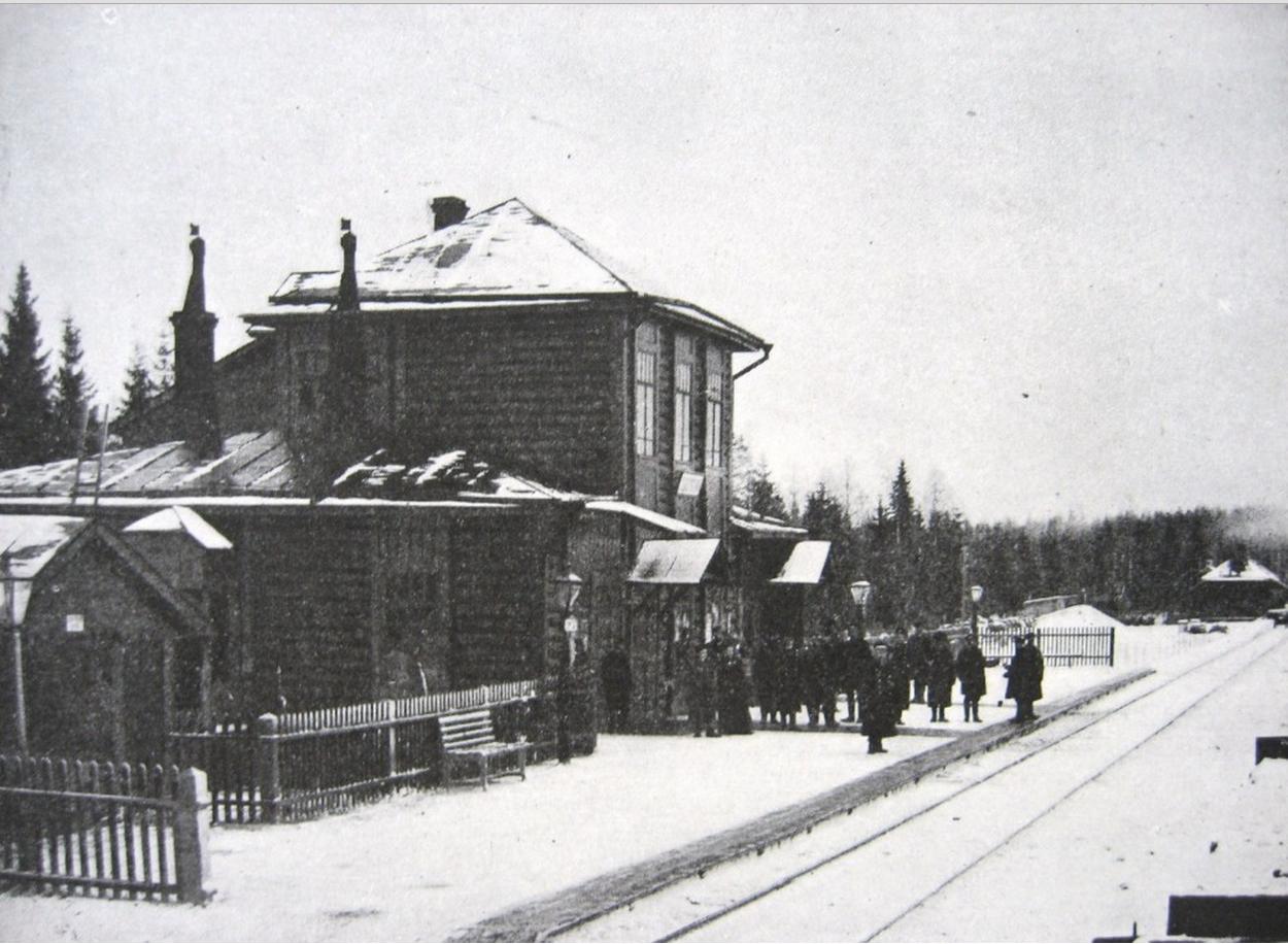 03. Пассажирское здание на станции Соблаго