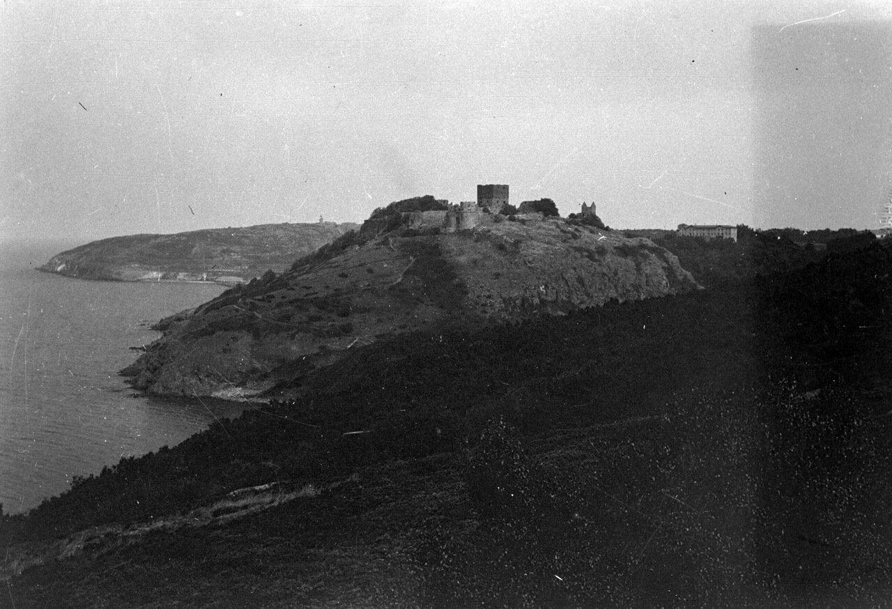 Замок Хаммерсхус, Борнхольм, Дания. 1910 г.