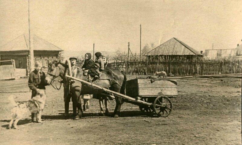 Деревня Усть-Погромная Даурского района