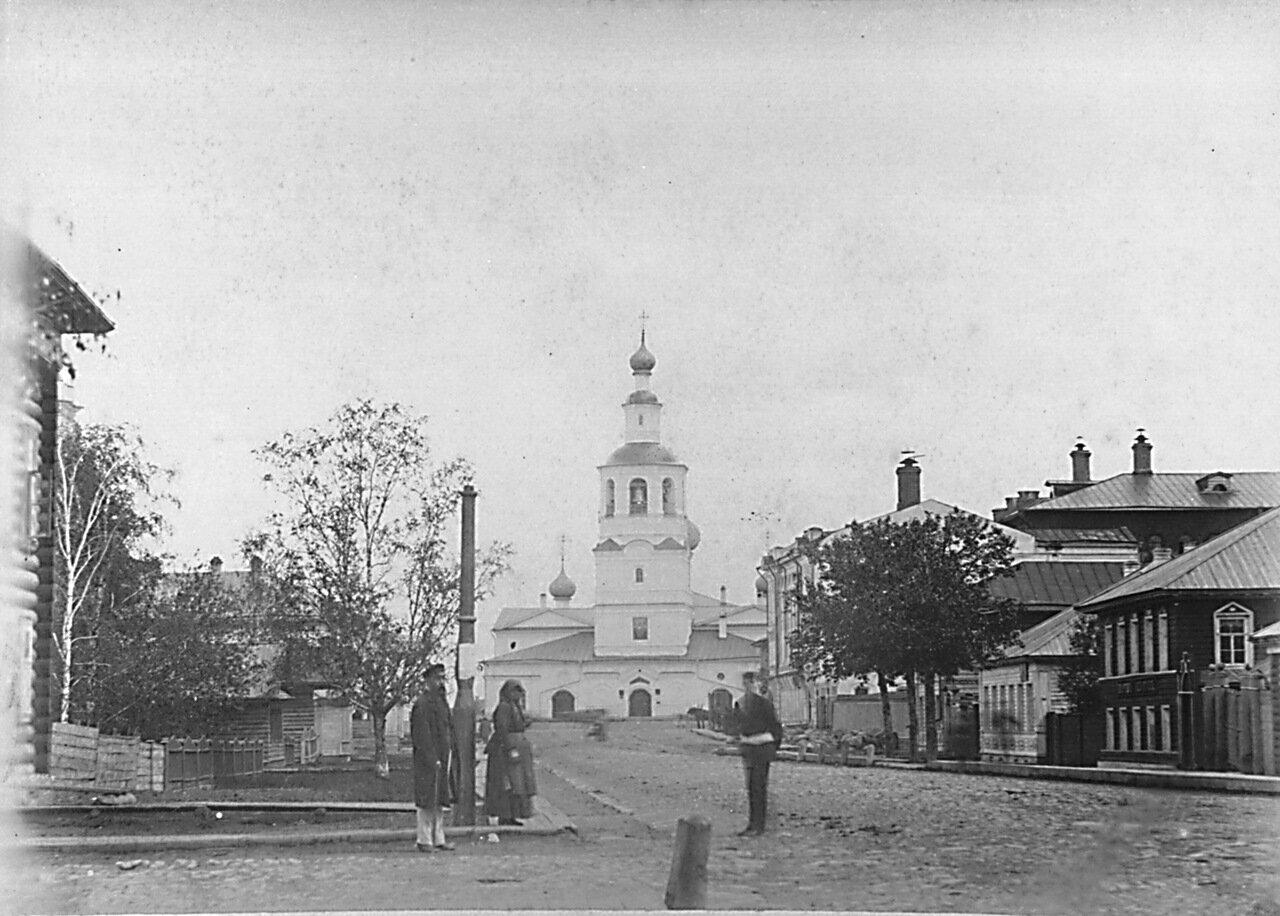 Малая Духовская улица, Спасо-Всеградский собор