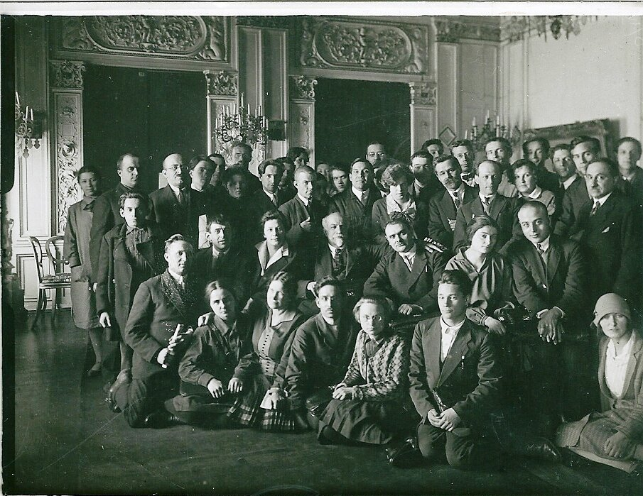 1925. Географический факультет ЛГУ