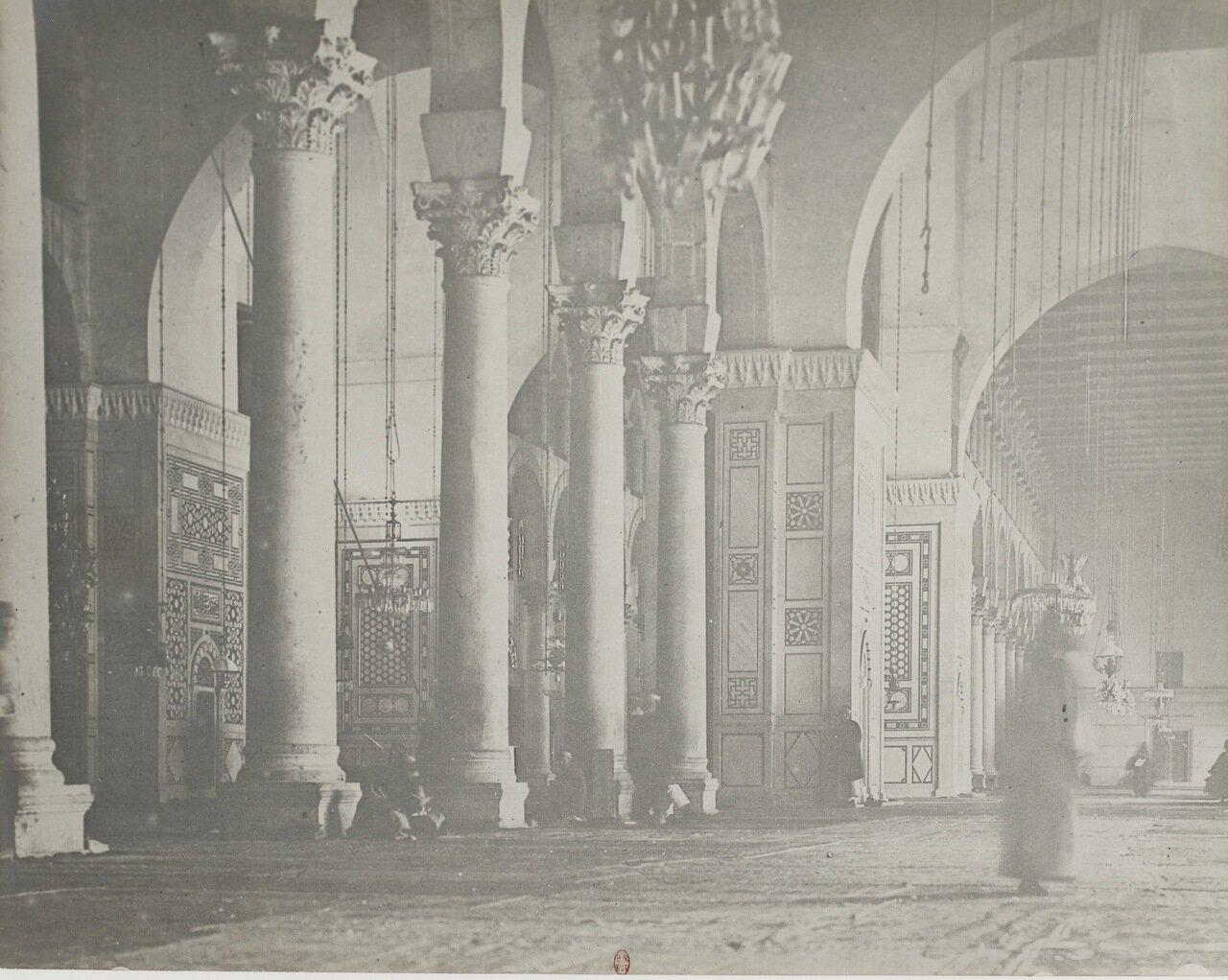 Сирия. Дамаск. Мечеть Омейядов