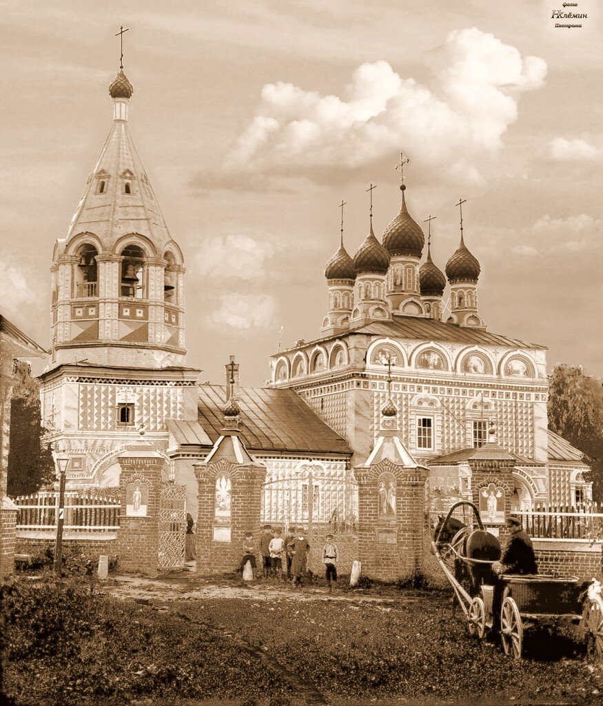 Церковь Преображения господня в Спаской слободе