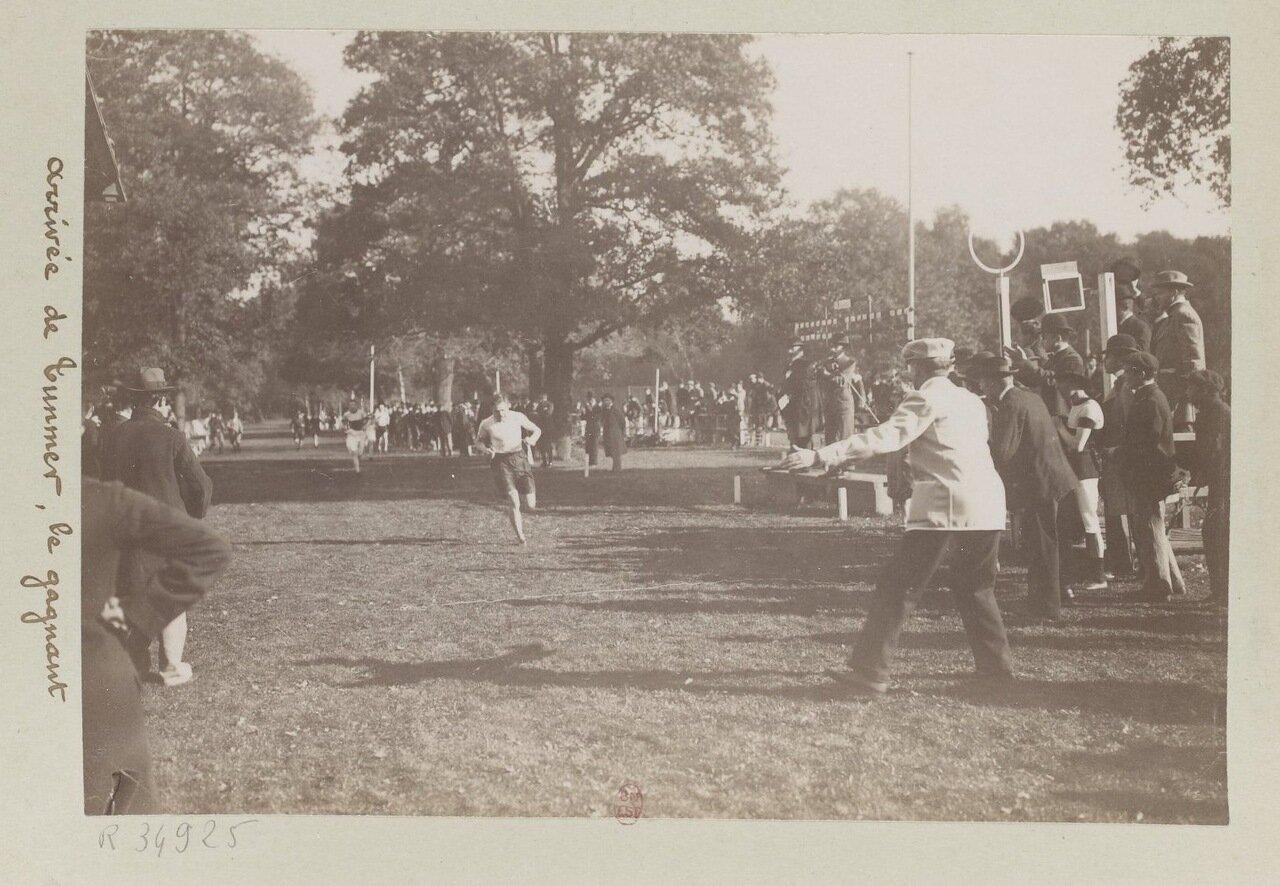 Соревнование по бегу на приз Рузвельта октябрь 1898