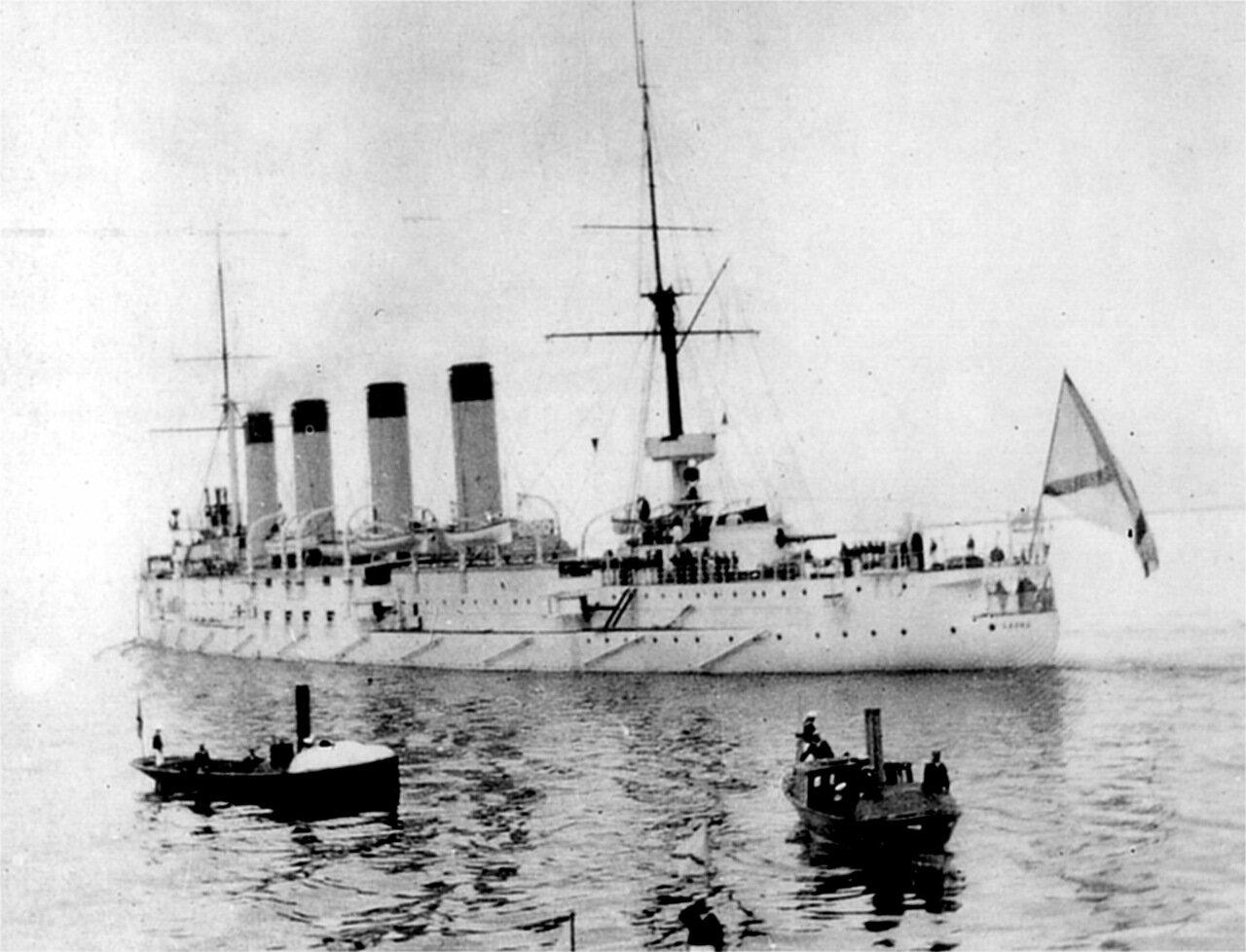 Броненосный крейсер Баян, 1903 год