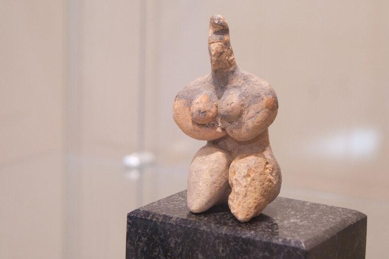 Венера Тель-Халафа. 4500-4000 лет до н.э. терракота