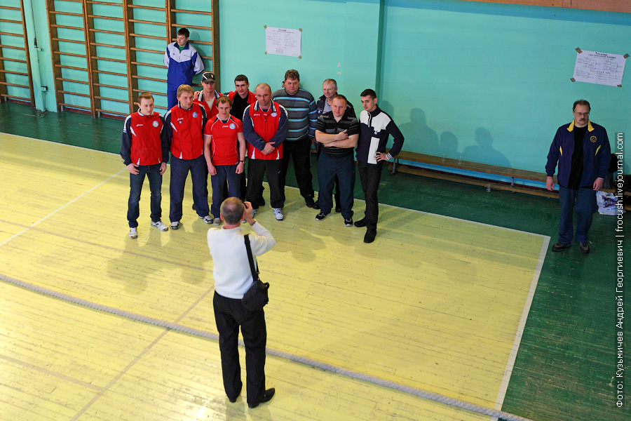 Групповое фото команды «Порт Серпухов»