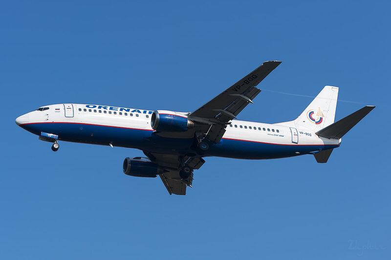 Boeing 737-4Y0 (VP-BGQ) Оренэйр DSC6449