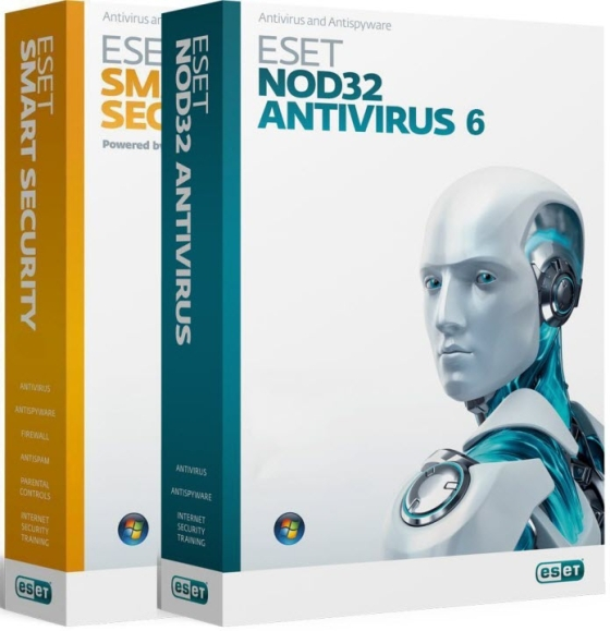 ESET NOD32 Antivirus & Smart Security 6