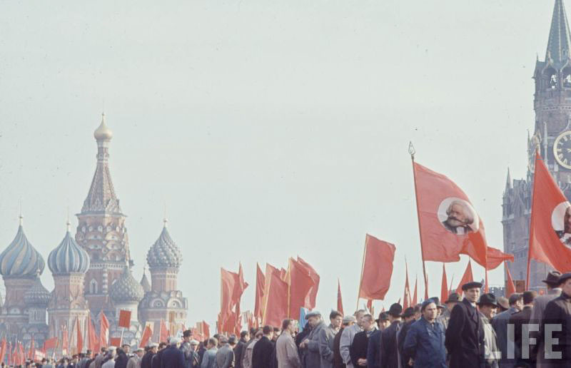 празднование 1 мая в СССР в 1970-ые годы