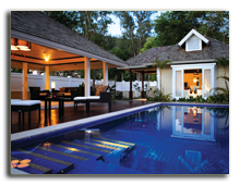 Сейшелы. О. Маэ. Banyan Tree Seychelles. Hillside Pool Villa Overlooking The Indian Ocean