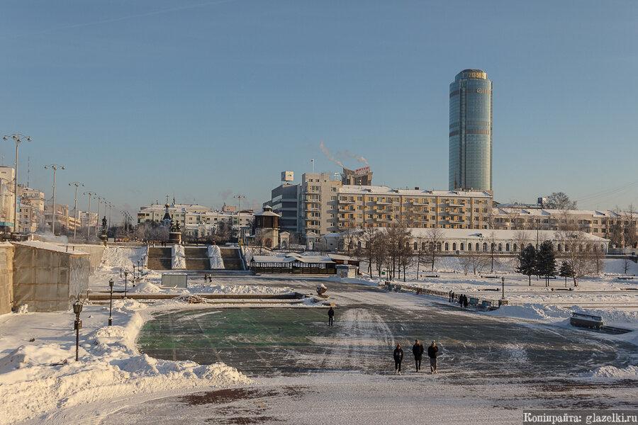 Екатеринбург. Плотинка.