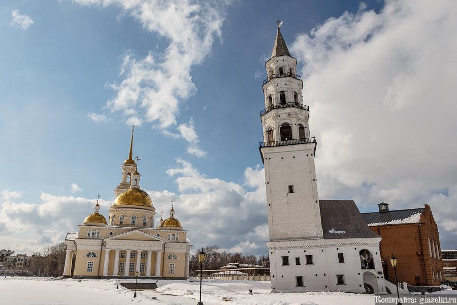 Невьянск. Падающая башня.