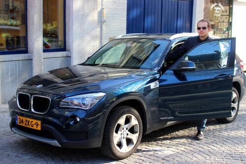 Brugge on BMW X1