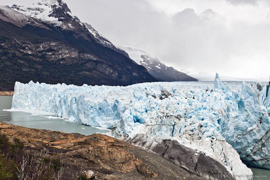 10. Устоявший перед потеплением. Ледник Перито Морено.