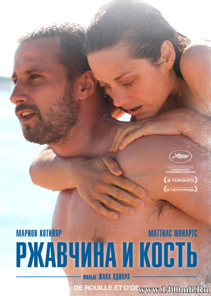 Ржавчина и кость / Rust and Bone / De rouille et d'os (2012/HDRip)