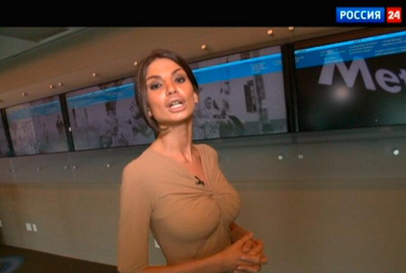 Сексуальные русские телеведущие