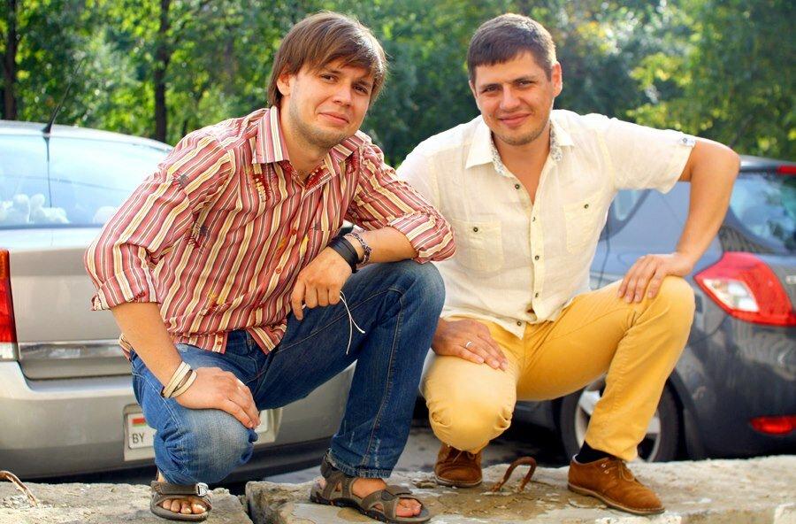 Братья Антон и Максим Каракуловы