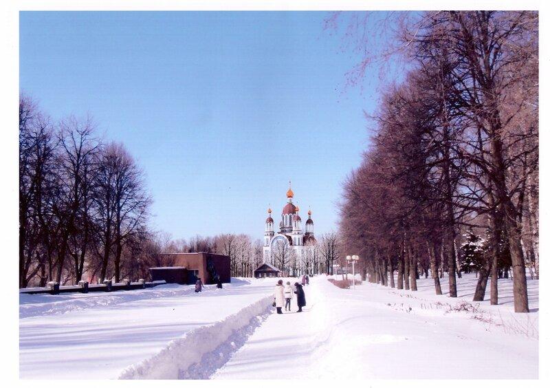 Собор в сквере Чапаева, вид 1 (проект)