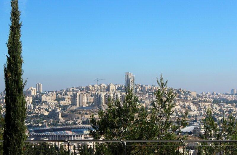 Спальный  район  Иерусалима