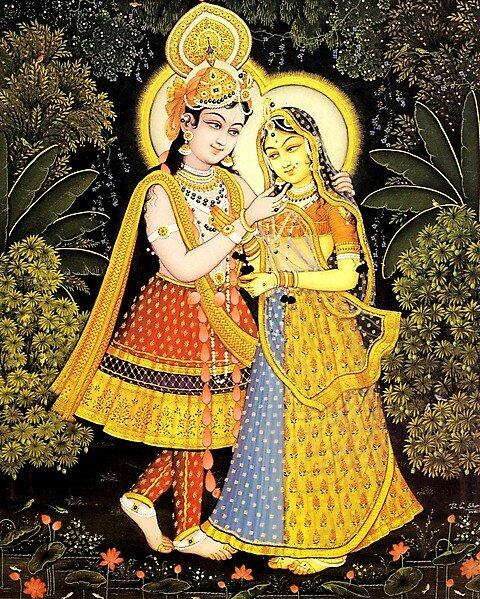 Картины знаменитого индийского художника шармы.