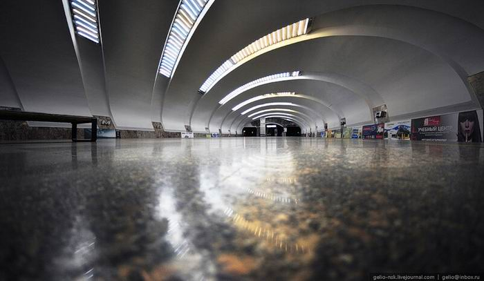 Екатеринбургский метрополитен. Архитектура и интерьеры подземки