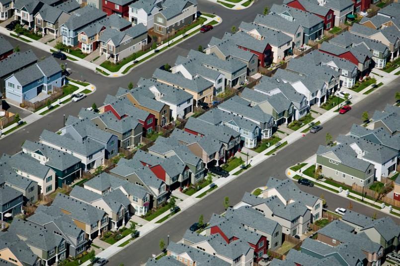 9. Жилые кварталы, Бивертон, Орегон, США, 2005 г. (Alex MacLean / Beetles+Huxley)