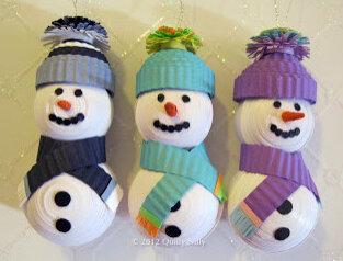 Снеговики6