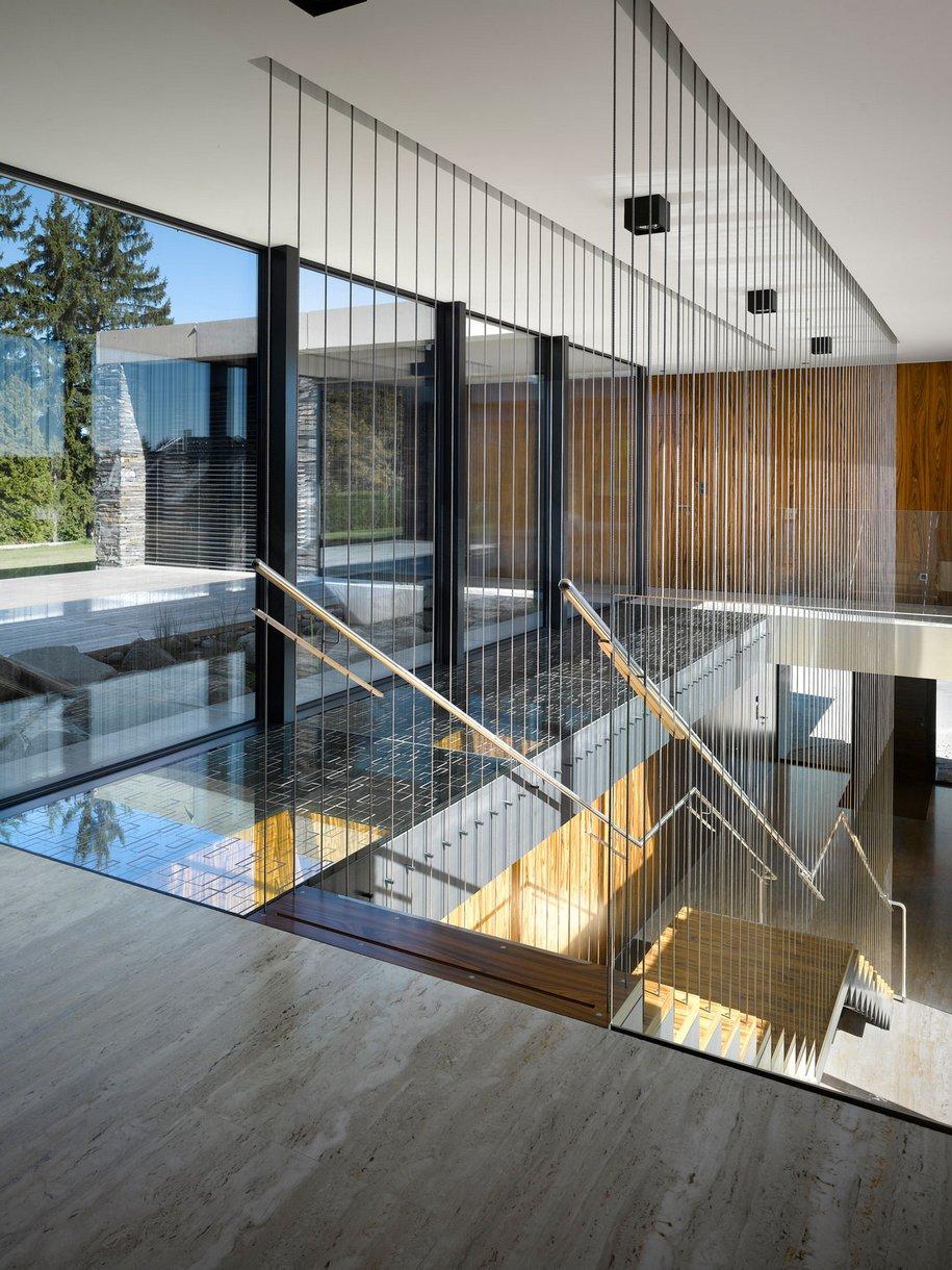 Резиденция в стиле минимализма в Чехии