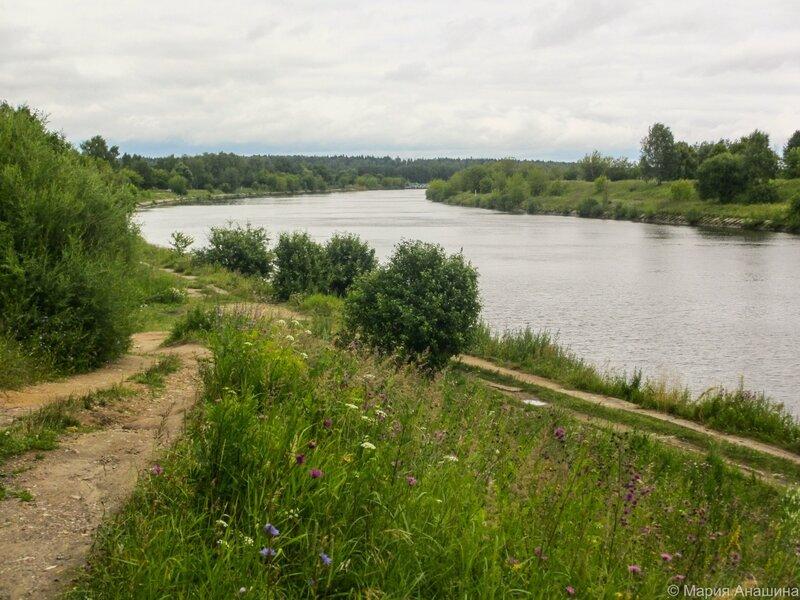 Канал имени Москвы недалеко от Степаньково