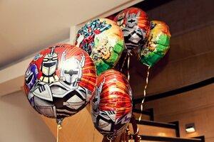 космическая тема фольгированные шары