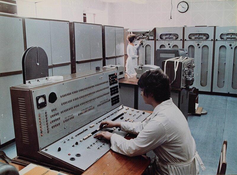 Электронная цифровая вычислительная машина Минск-22 Разработана