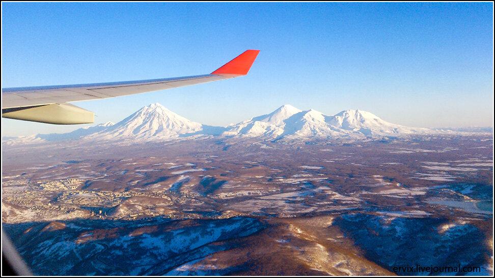Камчатка. Петропавловск-Камчатский. Вулканы