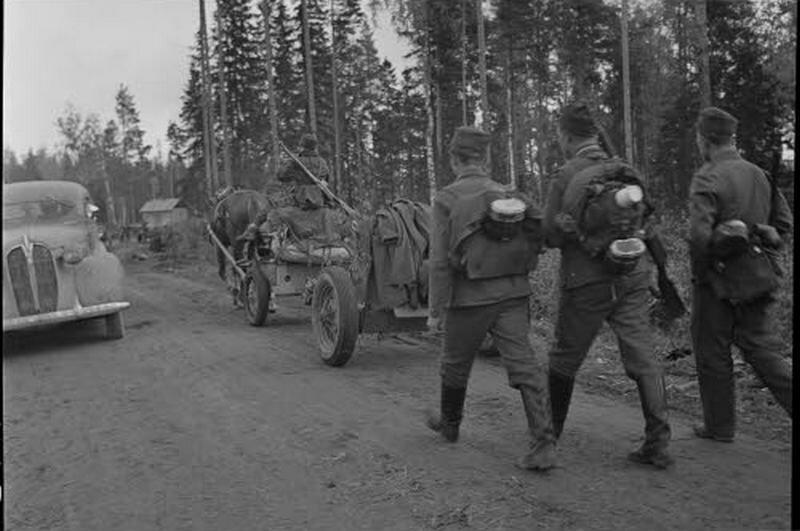 Оккупация Петрозаводска финнами 1941-1944 год. Наступление на Петрозаводск финнских военных