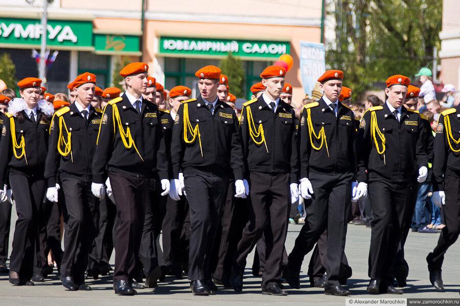 День Победы в Саранске. Парад