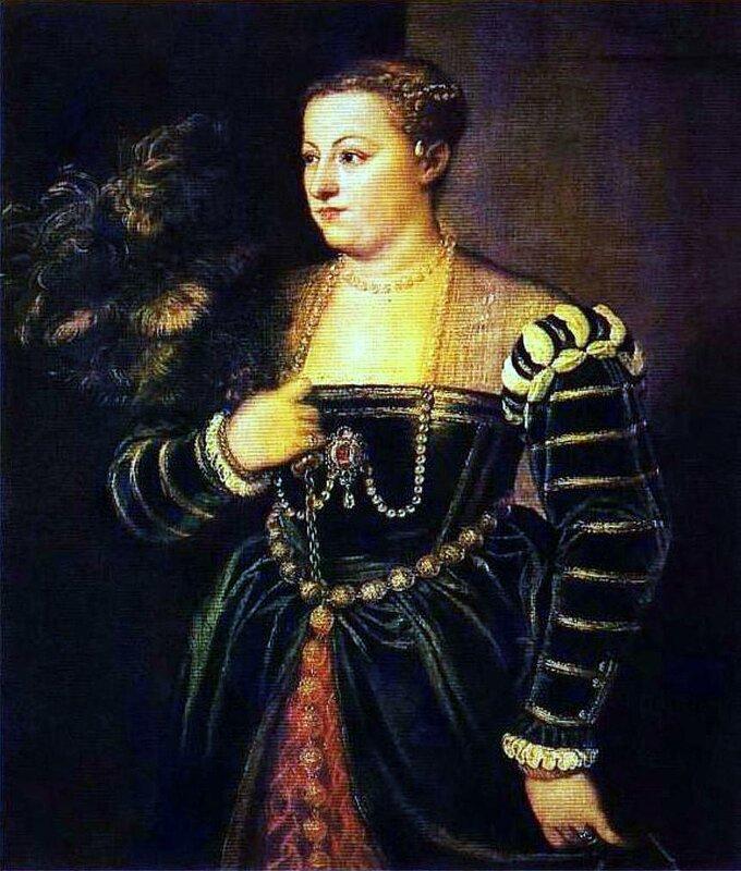 Картины старых мастеров 006.jpg, Тициан Вечеллио, Портрет дочери Тициана Лавинии