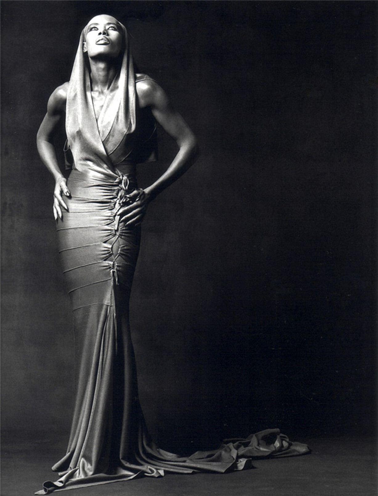 Grace Jones / Грейс Джонс - портрет фотографа Грега Гормана / Greg Gorman