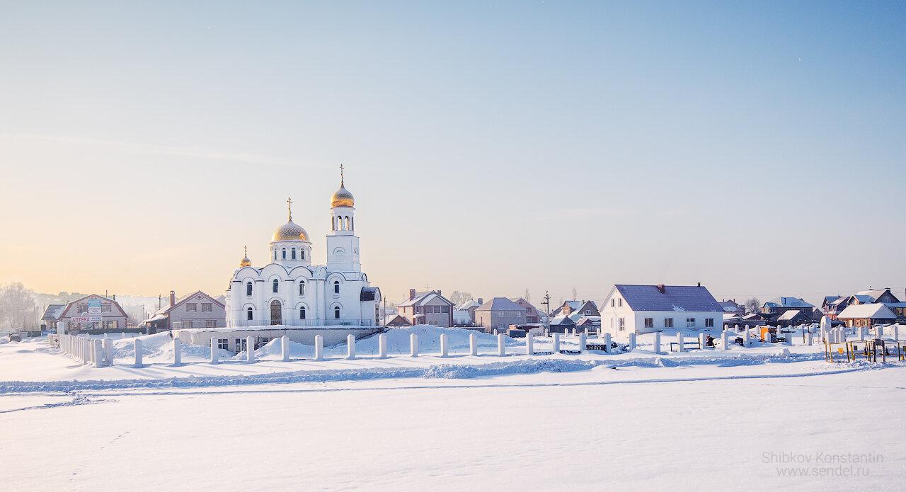 Вознесенский храм в Чесноковке