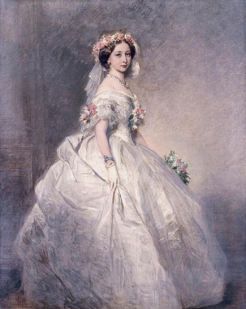 Принцесса Алиса (1843-78), позже Великая княгиня Гессен  1859