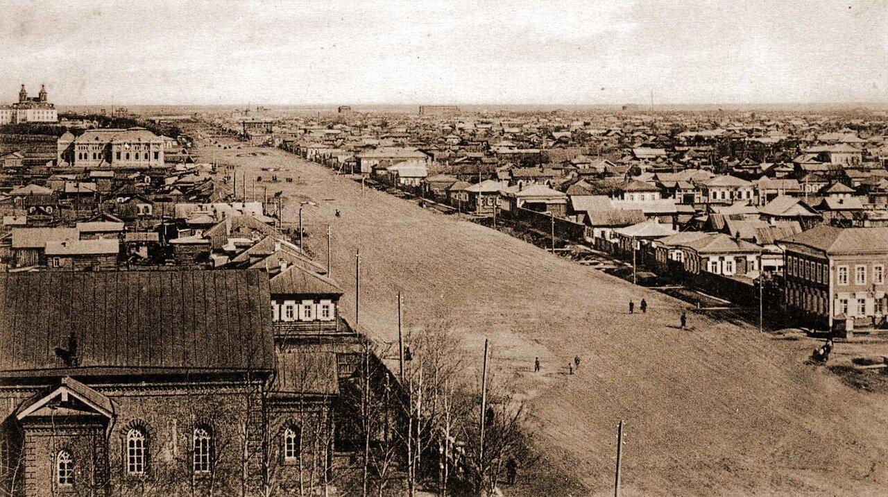 Вид на улицу Иркутскую