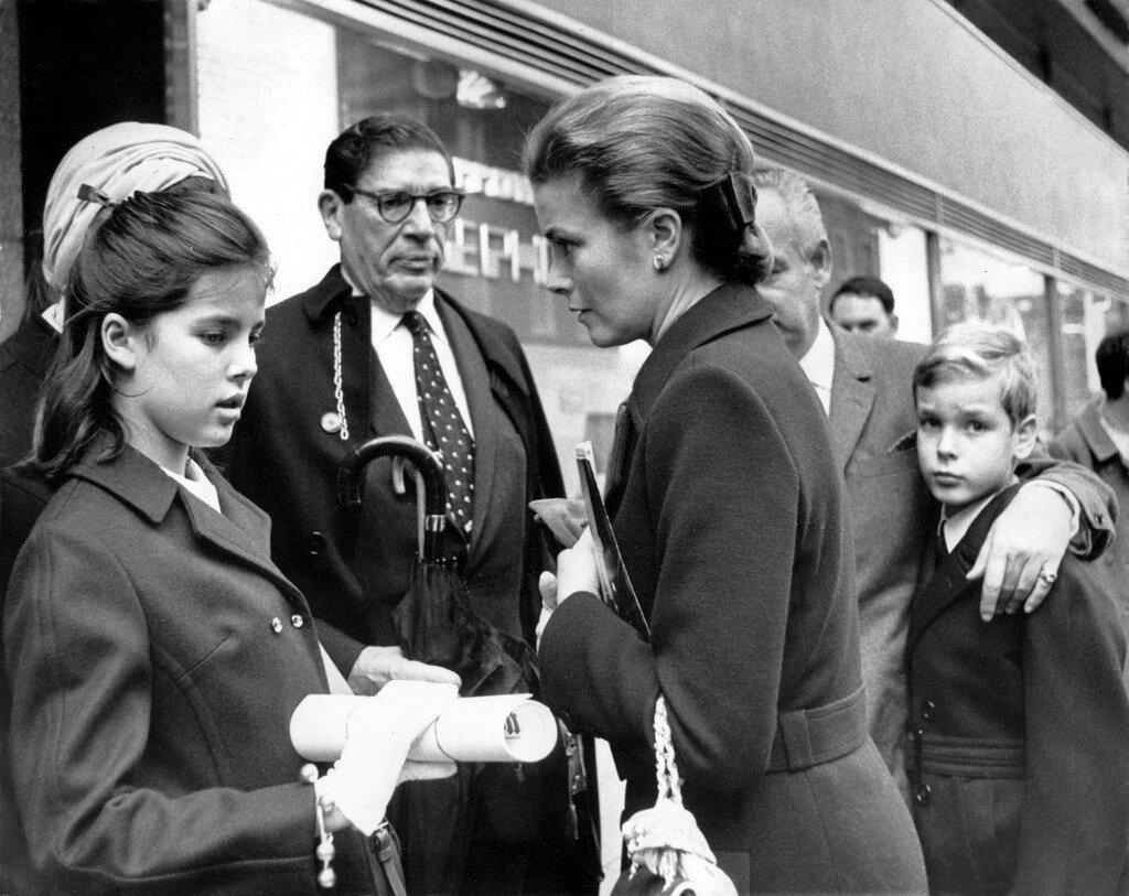 Monegassische Fьrstenfamilie in London, 1968