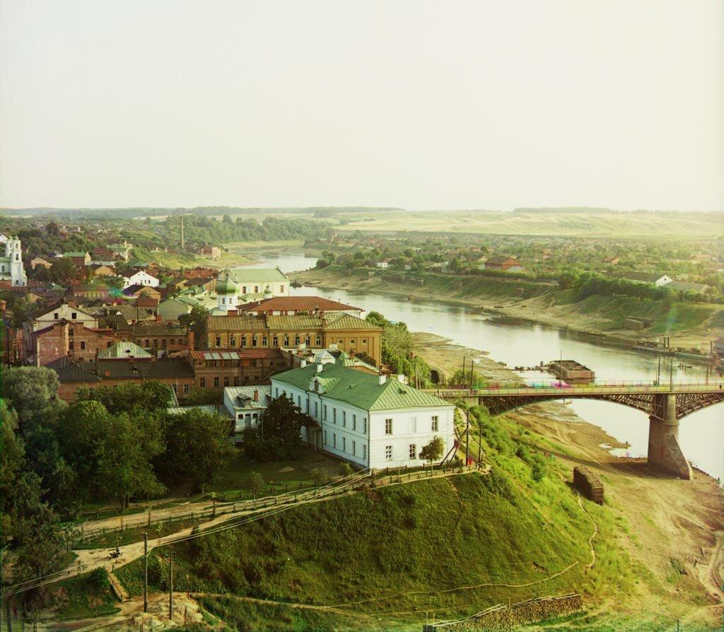 Витебск. Часть города с Западной Двиной. 1912