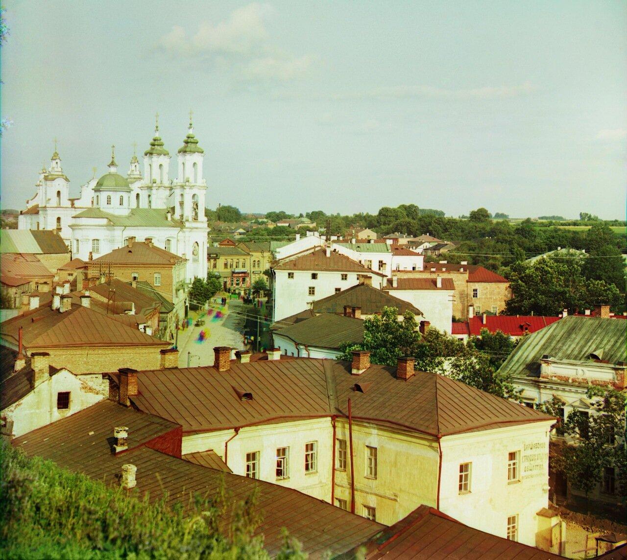 Витебск. Юго-восточная часть города. 1912