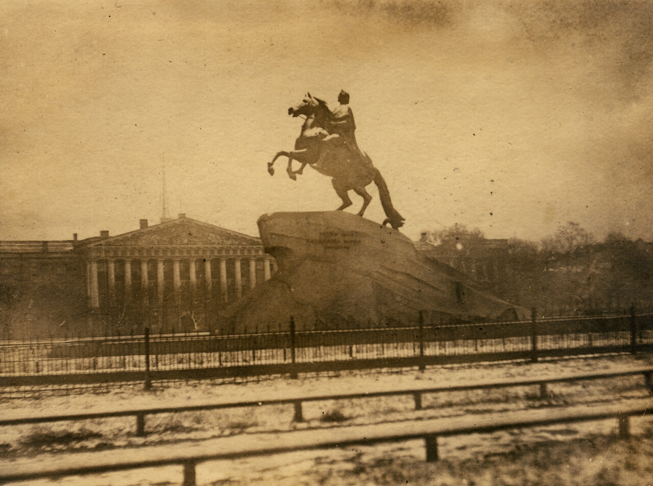 Памятник Петру Великому 1932