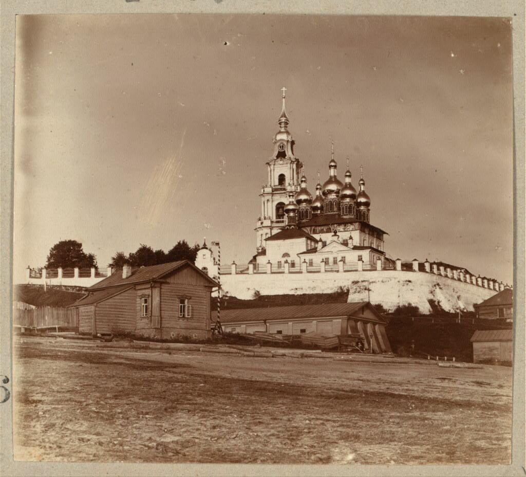 Кострома. Успенский собор с берега. 1910.