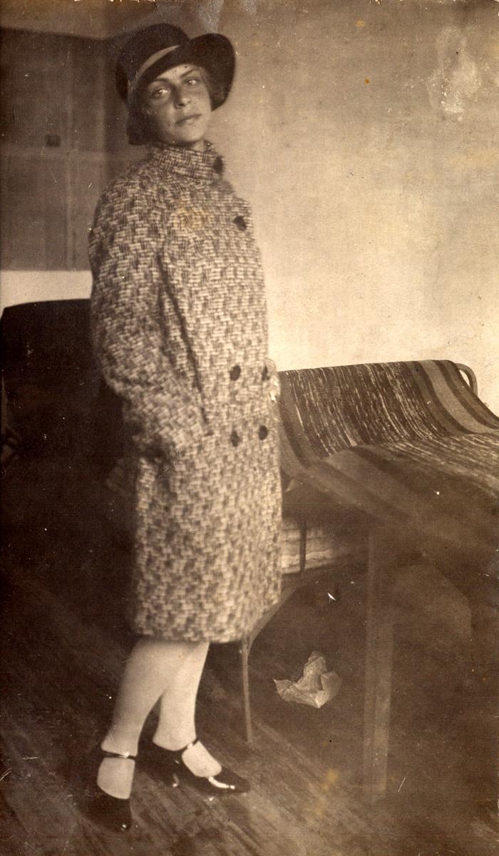 Студентка 4-го курса Экфака ТСХА (1929)
