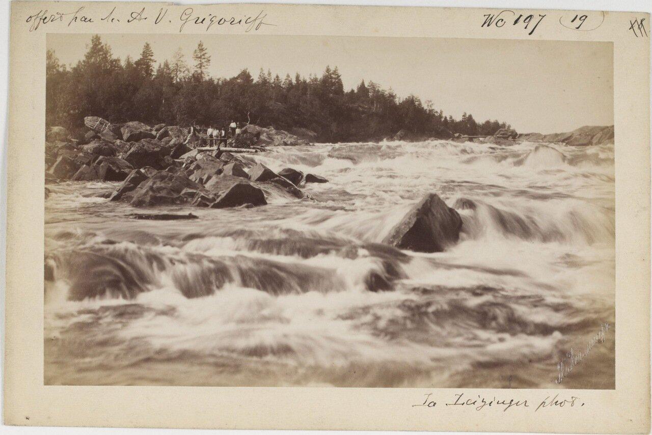 Пороги на реке Кемь близ города с аналогичным названием