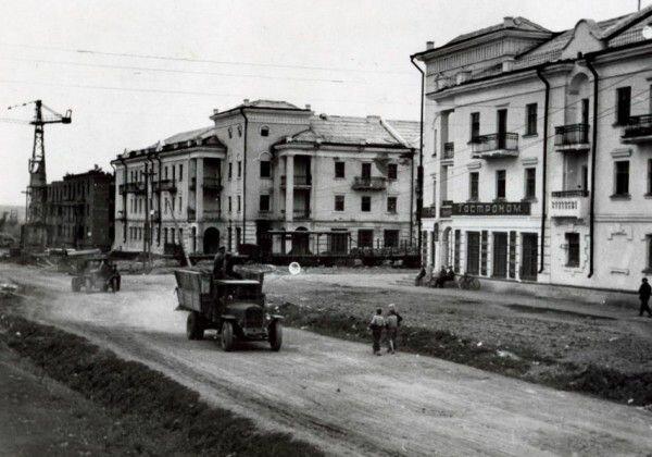 Начало улицы Пушкина